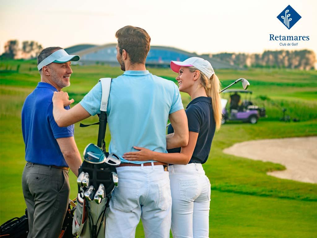 golf para combatir el estrés