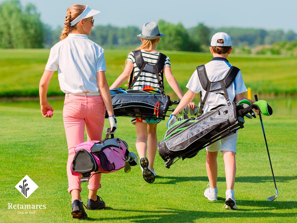 12 beneficios del golf para ni os club de golf retamares noticias. Black Bedroom Furniture Sets. Home Design Ideas