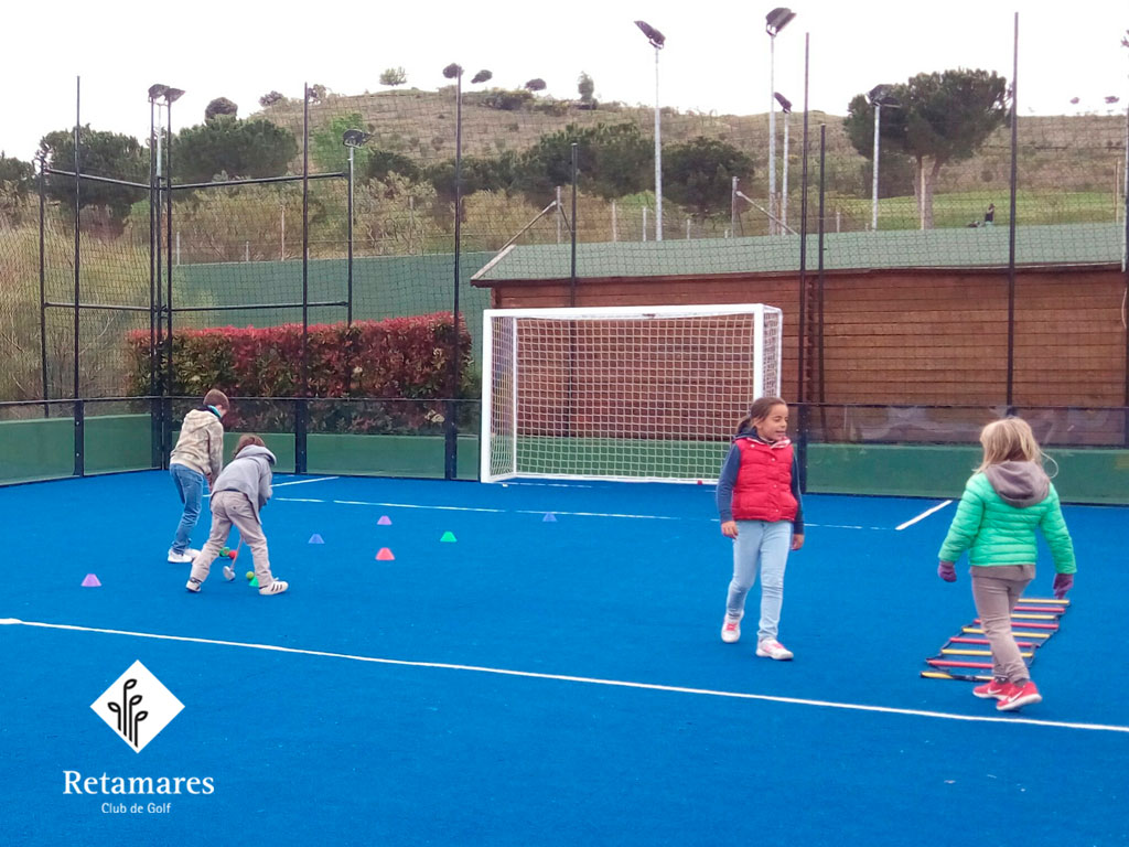 Jugar al golf en Madrid: Club de Golf Retamares