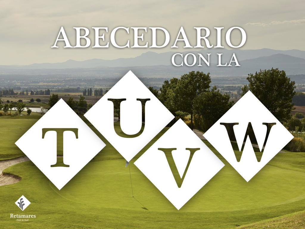 Vocabulario de golf: de la T a la W