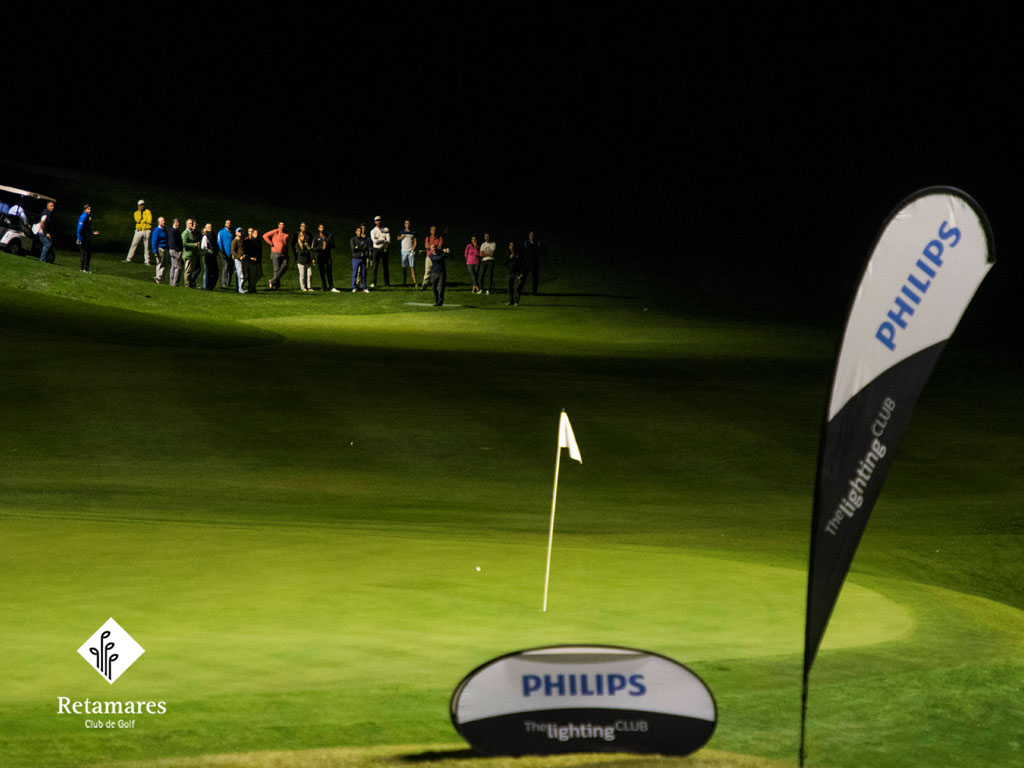 Philips Lighting ilumina el hoyo 18 en Golf Retamares para dar un ...