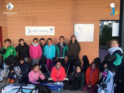 Golf para niños en Madrid: programa Golf en los colegios en el Club Retamares
