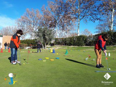 Finaliza el curso de otoño 2017 de golf para niños en Madrid