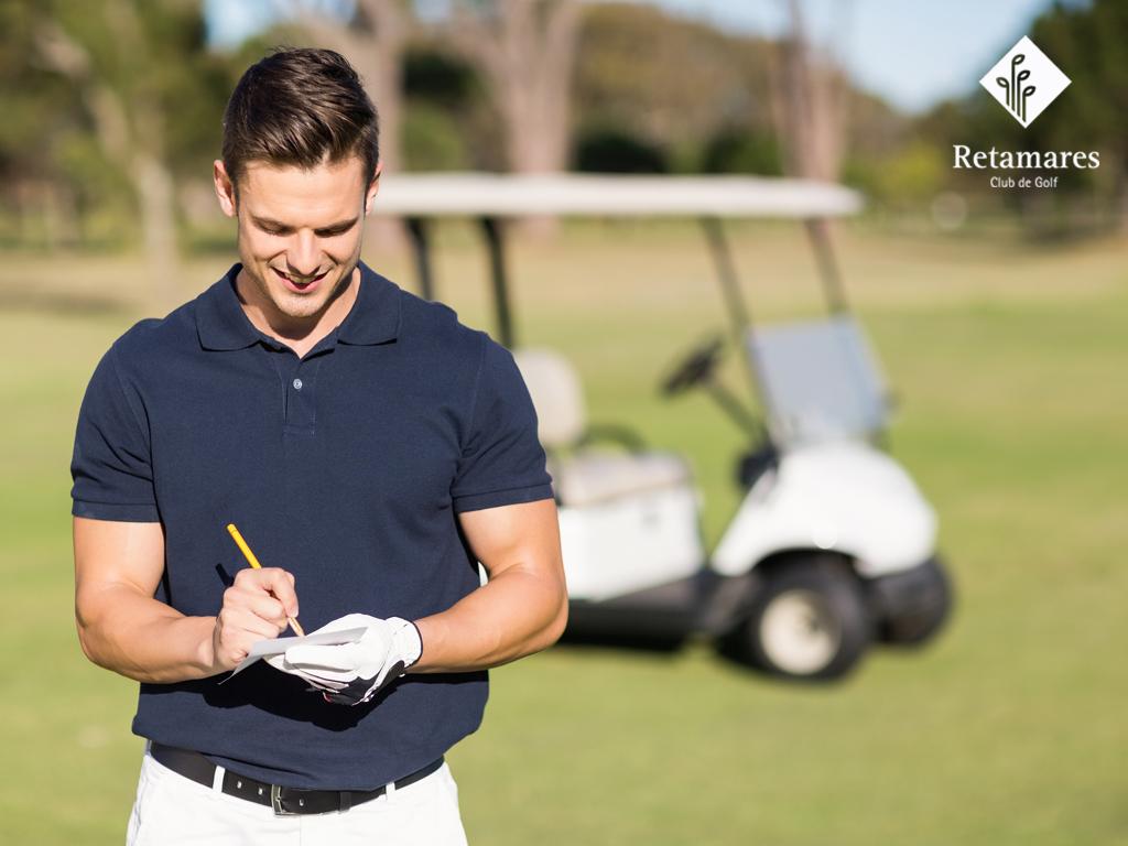 Desde el Club Retamares te explicamos cómo llevar los puntos cuando vengas a jugar al golf en Madrid o en cualquier otro campo