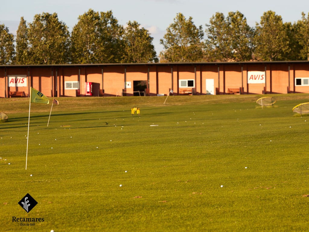 Conoce una de las instalaciones principales del Club Retamares: el campo de prácticas