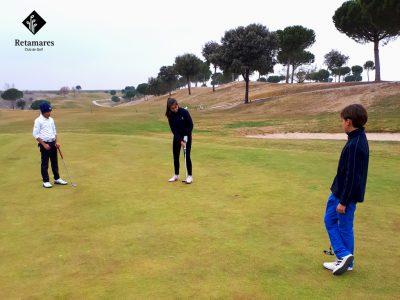 El Equipo de Representación de Retamares: una opción de golf para niños en Madrid