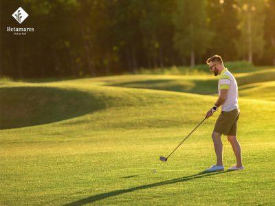 Aprende a leer caídas para cuando juegues al golf en Madrid