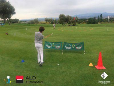 Curso de primavera de la Escuela Infantil Retamares, una opción de golf para niños en Madrid