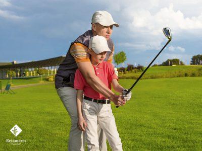 El golf como terapia