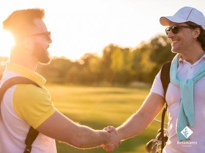 El golf también puede ser una buena terapia para los equipos de trabajo