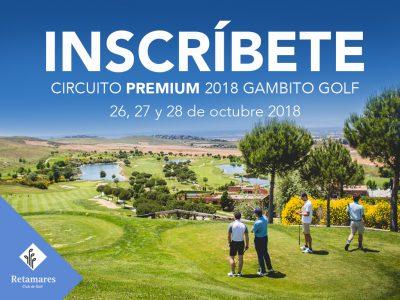 Retamares Gambito Golf 2018