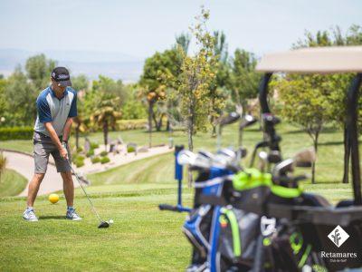 Jugar al golf en Madrid clases de golf