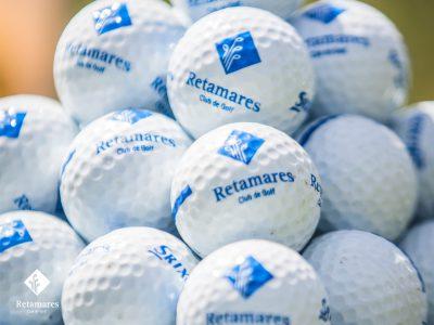 golf en Madrid Retamares tipos de bolas