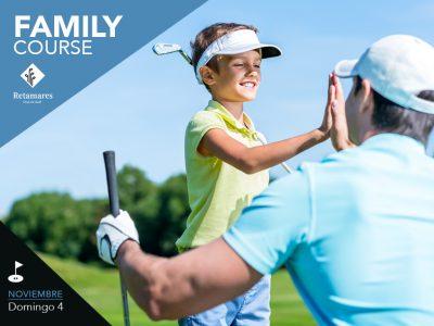 Family Course Retamares jugar en familia al golf en Madrid