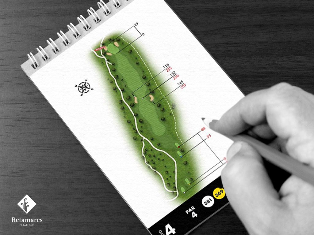 strokesaver para jugar al golf en Madrid
