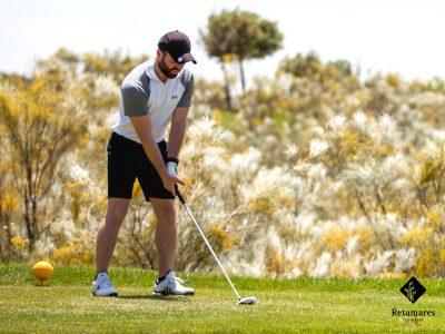 aprender golf en Madrid la concentración Retamares