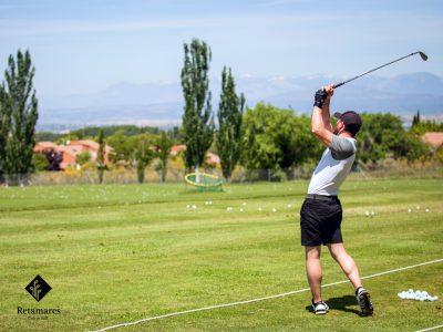 golf en Madrid Retamares precisión