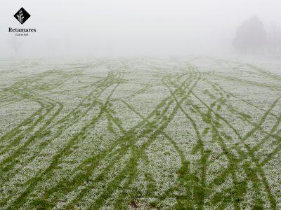 Retamares jugar al golf en Madrid con frío